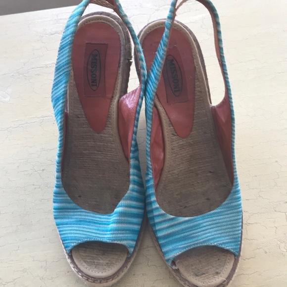 Missoni Shoes - AUTHENTIC MISSONI WEDGES